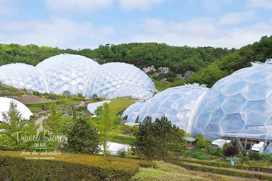 Eden Project in Cornwall  © Sabine Mey-Gordeyns, travelstories-reiseblog.com