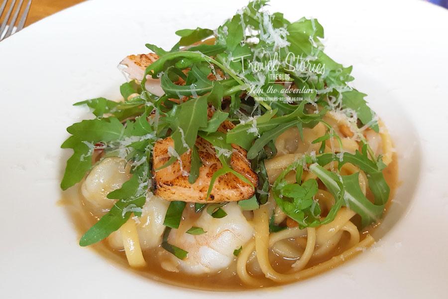Seafood Spaghetti in Padstow © Sabine Mey-Gordeyns, travelstories-reiseblog.com