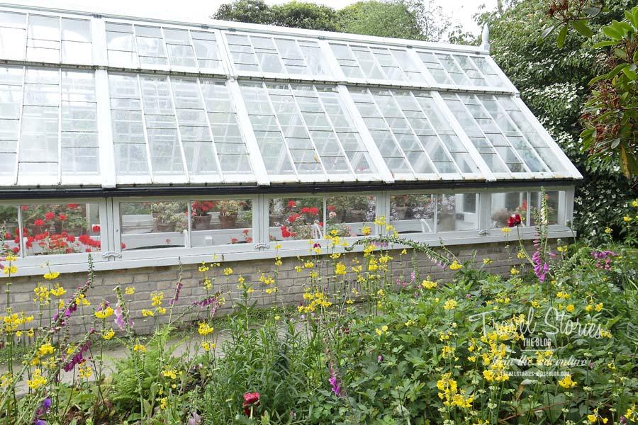 Gewächshaus für Geranien in den Lost Gardens of Heligan in Cornwall © Sabine Mey-Gordeyns, travelstories-reiseblog.com